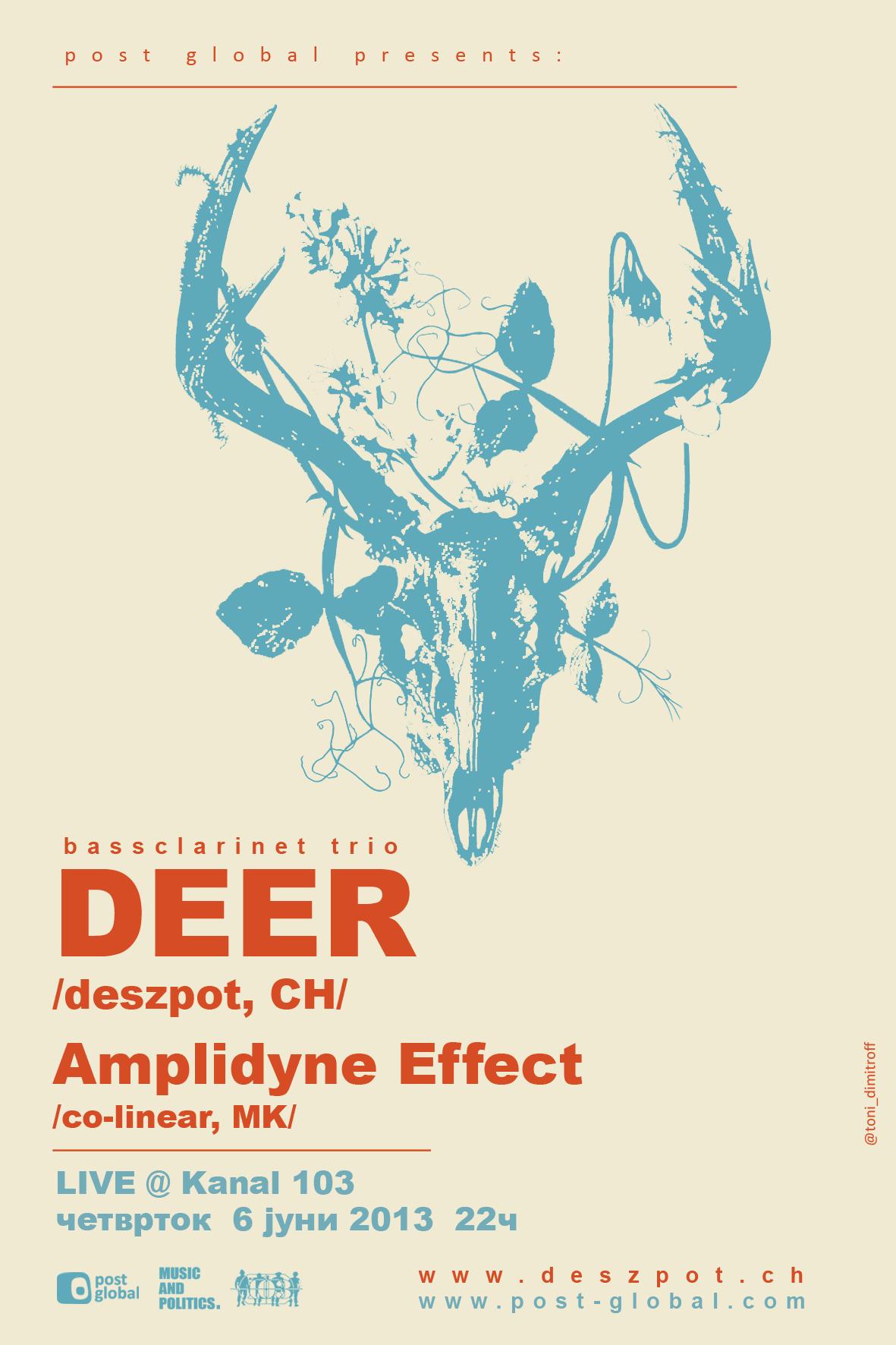 Amplidyne Effect & DEER @ Kanal 103 2013
