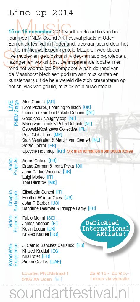 PNEM Sound Art Festival 2014