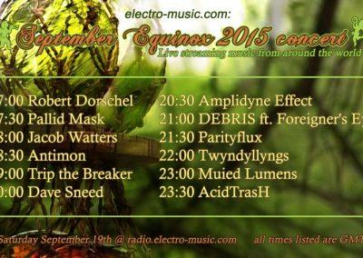 September Equinox - 2015 - electro-music.com
