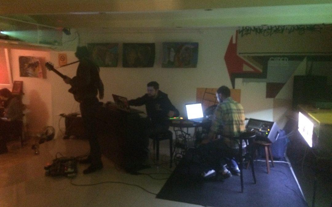 20.02.2015 Leila Bar Belgrade, Serbia (Solo + Post Global Trio & Marko Jevtic)