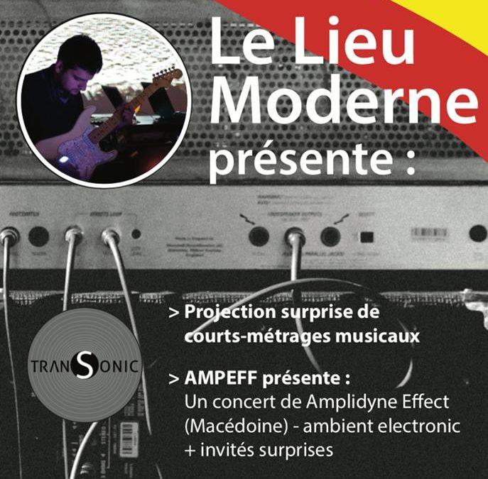 Amplidyne Effect @ Bibliothèque publique de Huy, Belgium (/w Christophe Bailleau, Didié Nietzsche)