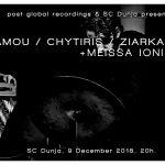 Stamou / Chytiris / Ziarkas & Meissa Ionis LIVE (9th December 2018)