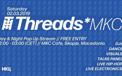 Threads*MKC Pop Up – Day & Night (March 2nd Start 12:00)